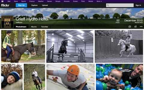 Screenshot of Flickr Page flickr.com - Flickr: crieffhydro's Photostream - captured Oct. 22, 2014