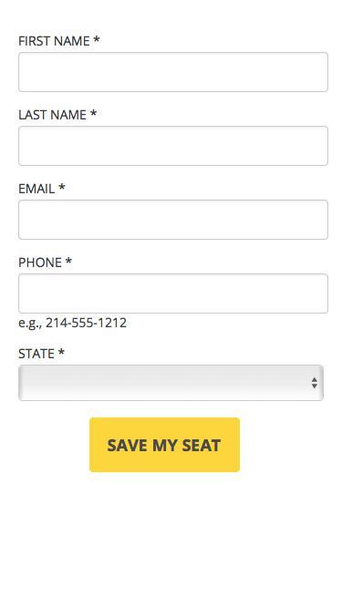 Screenshot of Landing Page  synerzip.com -