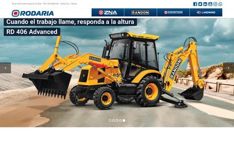 Screenshot of Home Page rodaria.com.bo - Inicio – Rodaria Ltda. - captured Nov. 13, 2017