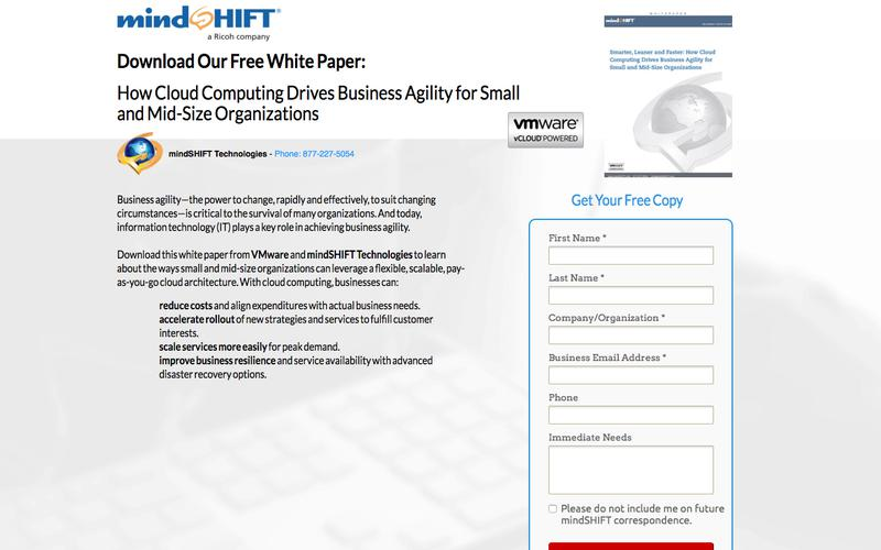 Whitepaper - How Cloud Computing Drives Business Agility for Small and Mid-Size Organizations