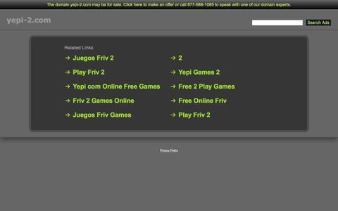 Screenshot of Home Page yepi-2.com - Yepi-2.com - captured April 1, 2017
