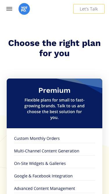 Yotpo Pricing & Plans
