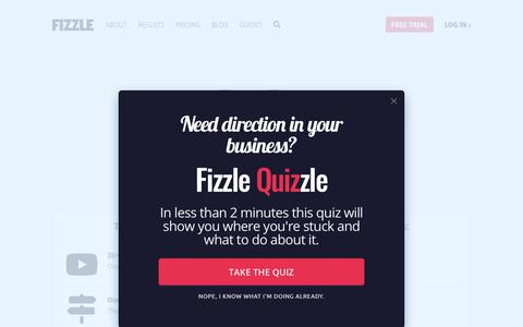 Screenshot of Pricing Page fizzle.co - Fizzle Membership Pricing - captured June 29, 2019