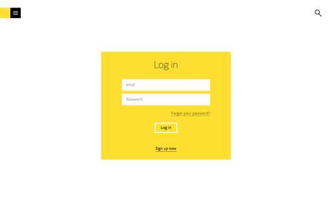 Screenshot of Login Page fontshop.com - FontShop - captured Aug. 19, 2018