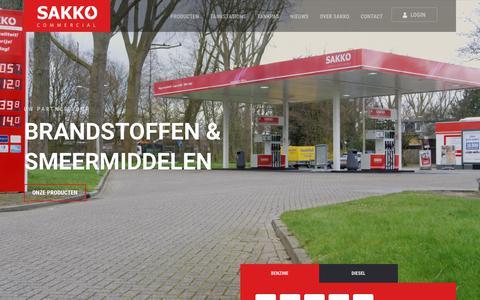 Screenshot of Home Page sakkocommercial.nl - Sakko Commercial - captured Sept. 27, 2017
