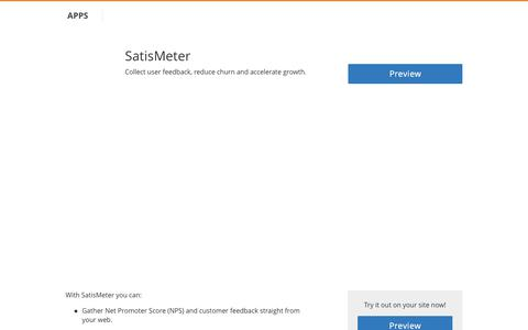 SatisMeter - Cloudflare Apps