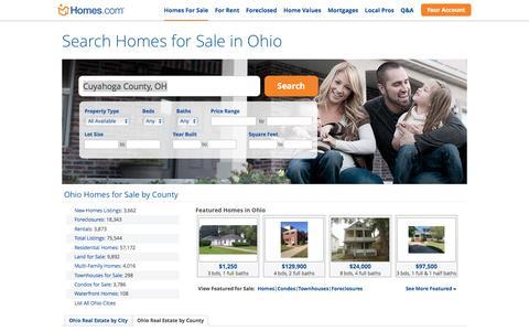Ohio Homes for Sale | Homes.com