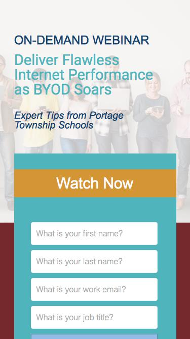 On-Demand Webinar: Deliver Flawless Internet Performance as BYOD Soars