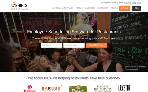 Easy Restaurant Scheduling Software. Try it Free. | 7shifts