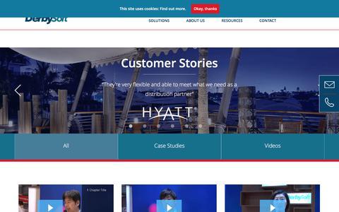 Customer Stories Archives - DerbySoft