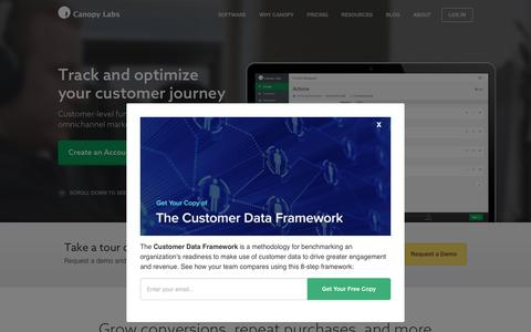 Canopy Labs | Track and Optimize Your Customer Journey