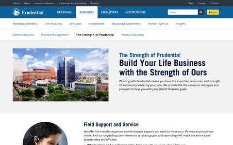 The Strength of Prudential | Prudential Financial