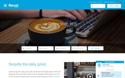 Coffee Shop POS System   Revel iPad Point of Sale