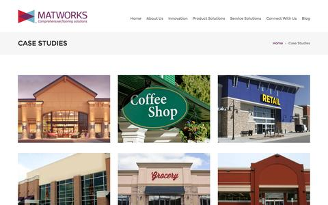 Screenshot of Case Studies Page thematworks.com - Case Studies - The MatworksThe Matworks - captured Feb. 15, 2016
