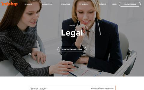 Careers: Legal | Infobip