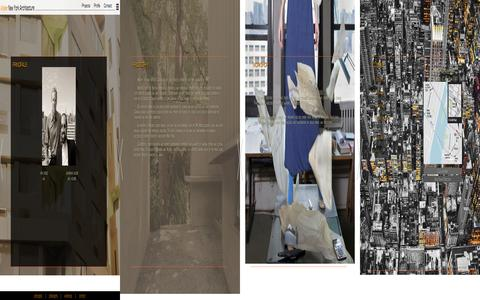 Screenshot of Contact Page atelierny.com - Atelier New York Architecture - Profile - captured Feb. 6, 2016