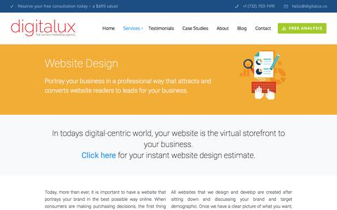 Website Design | Digitalux