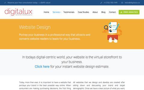 Website Design | Digitalux