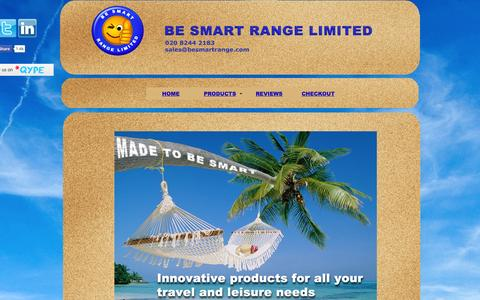 Screenshot of Home Page besmartrange.com - Be Smart Range Ltd - captured Oct. 5, 2014