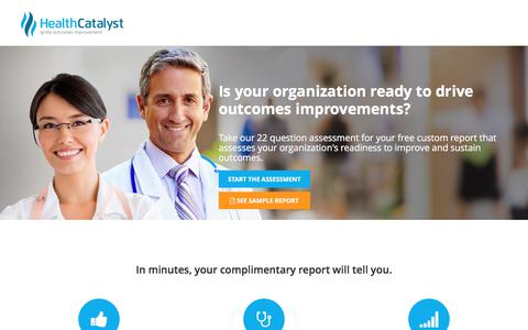 Readiness Assessment: Improve and Sustain Outcomes