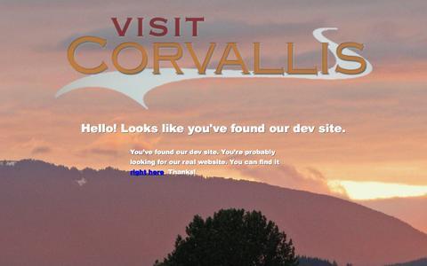 Screenshot of Privacy Page visitcorvallis.com - Visit Corvallis Oregon - captured Sept. 19, 2014