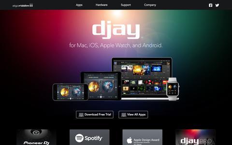 Algoriddim - djay for Mac, iPad, iPhone, Android