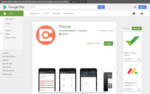 Procore - Apps on Google Play