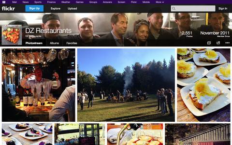 Screenshot of Flickr Page flickr.com - Flickr: DZ Restaurants' Photostream - captured Oct. 23, 2014