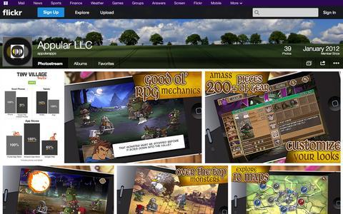 Screenshot of Flickr Page flickr.com - Flickr: appularapps' Photostream - captured Oct. 23, 2014