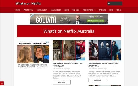 What's on Netflix Australia - Whats On Netflix