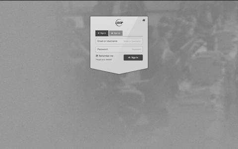 Screenshot of Login Page ugcevents.com - Member Sign In | UGC - captured Nov. 3, 2014