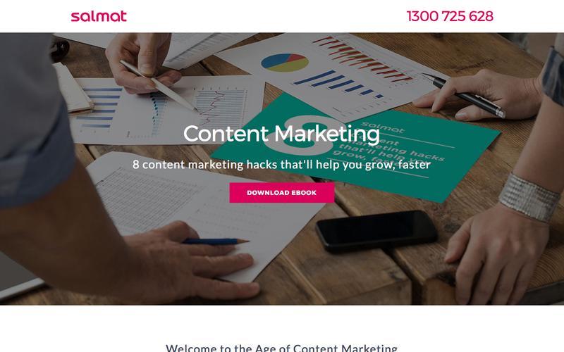 Salmat – Content Marketing eBook