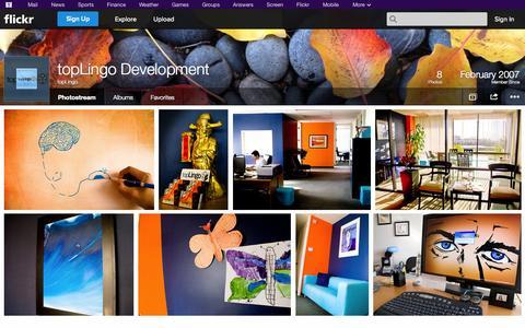 Screenshot of Flickr Page flickr.com - Flickr: topLingo's Photostream - captured Oct. 26, 2014