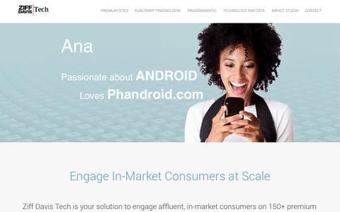 Screenshot of Home Page netshelter.com - Ziff Davis Tech - captured Sept. 23, 2014