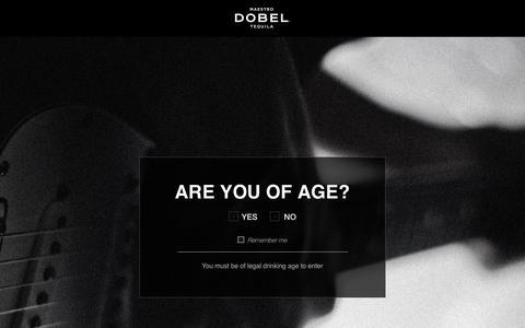 Screenshot of Products Page maestrodobel.com - Maestro Dobel | Products - captured Oct. 25, 2018