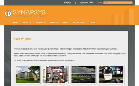 Screenshot of Case Studies Page synapsys-solutions.com - Synapsys Solutions - Case studies - captured Oct. 7, 2014