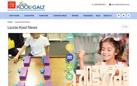 Screenshot of Press Page louisekool.com - Louise Kool News – louisekool - captured June 23, 2017