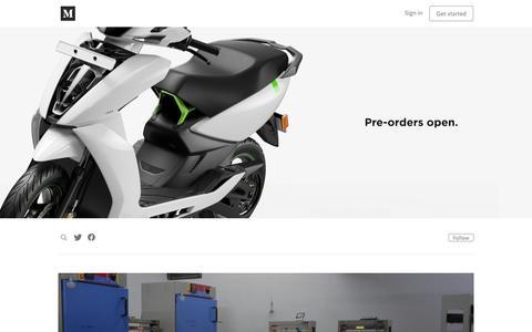 Screenshot of Blog atherenergy.com - Ather Energy - captured July 31, 2018