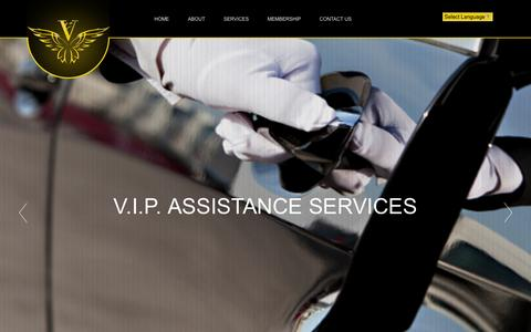 Screenshot of Home Page vipassists.com - V.I.P. Assistance Services - Concierge Services & Lifestyle Management. - captured Nov. 25, 2015