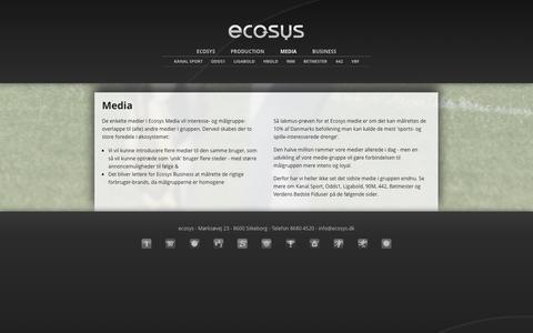 Screenshot of Press Page ecosys.dk - Media - ecosys.dk - captured Oct. 2, 2014
