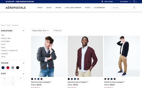 Sweaters &  Cardigans for Teen Boys &  Men | Aeropostale