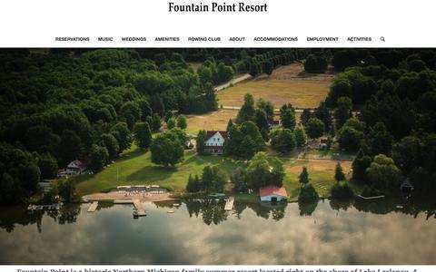 Fountain Point Resort – On Beautiful Lake Leelanau