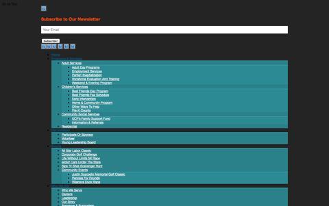 Screenshot of Contact Page ucpphila.org - Contact Us | UCP-Phila - captured Oct. 3, 2014