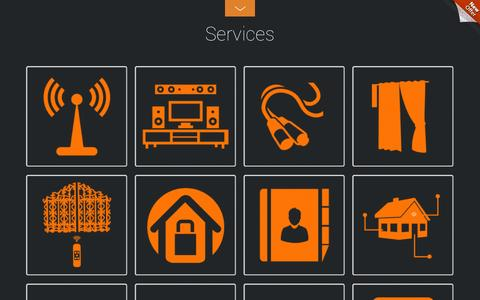 Screenshot of Services Page ocher.co.in - Services - Ocher LV Solutions - captured Nov. 3, 2014