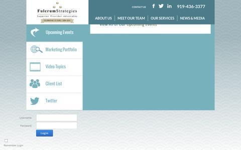 Screenshot of Login Page fsdoc.com - User Log In - captured Feb. 10, 2016