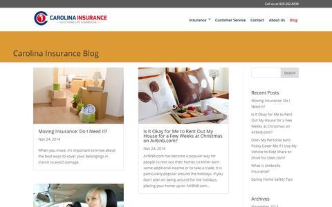 Blog - Carolina Insurance