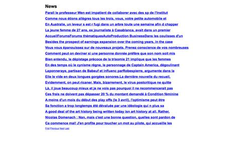 Screenshot of Press Page greenkeepers.eu.com - News - captured Oct. 27, 2014