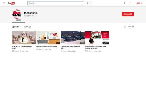 thebusbank - YouTube