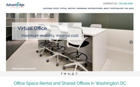 Office Space Rental and Shared Offices in Washington DC | AdvantEdge Business Centers