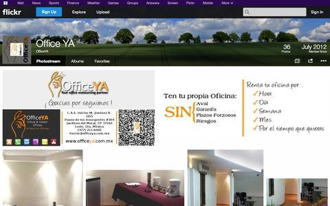 Screenshot of Flickr Page flickr.com - Flickr: OfficeYA's Photostream - captured Oct. 26, 2014